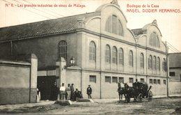 LAS GRANDES INDUSTRIAS DE VINOS DE MALAGA BODEGAS DE LA CASA NAGEL DISDIER HERMANOS - Malaga