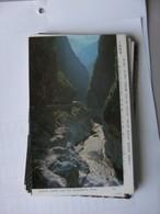 Asia Taiwan Tarogo Gorge Taroko Gorge And Its Dangerous Road - Taiwan