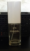 "Flacon Spray ""N°5 "" De CHANEL  VIDE   Eau Déodorante 100ml - Bottles (empty)"