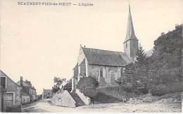 53 - BEAUMONT PIED DE BOEUF : L'Eglise - CPA Village ( 500 Habitants ) Mayenne - Frankreich
