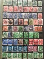 Perfins Set (ca 140 Stamps) - Abarten