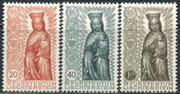 Liechtenstein 1954. Michel #329/31 Luxe/MNH. Completion Of The Marian Year. (B28) - Liechtenstein