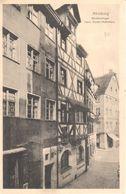 Deutschland - Bavière - Nürnberg - Meistersinger - Hans Sachs-Wohnhaus - Nuernberg