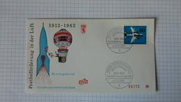 FDC Berlin   Mi.Nr. 230 ( 50  Jahre Luftpost) Mit Sonderstempel - Berlin (West)