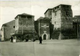 RIMINI  Rocca Malatestiana  Timbro Croce Rossa Italiana Centro Profughi Ungheresi  Igea Marina  Croix Rouge - Rimini