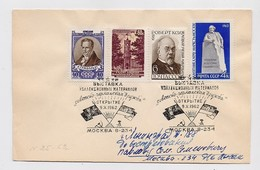 MAIL Post Cover Mail USSR RUSSIA Marx Crisis Germany  Gumboldt Koch Medicine - 1923-1991 URSS