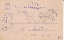 Feldpostkarte K.k. Inf. Reg. No. 49 - Zensuriert - 1915 (35501) - 1850-1918 Imperium
