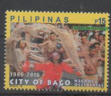 PHILIPPINES, 2016, MNH, CITY OF BAGO, BABAYLAN FESTIVAL  , DANCES,  1v - Other