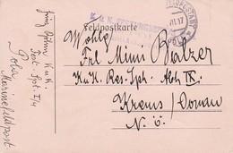 Feldpostkarte - K.u.k. Festungsspital Pola Sanitätsabteilung - 1917 (35504) - 1850-1918 Imperium