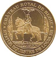 41 BLOIS CHÂTEAU ROYAL FRANÇOIS 1er MÉDAILLE MONNAIE DE PARIS 2018 JETON TOKEN MEDAL COIN - Monnaie De Paris