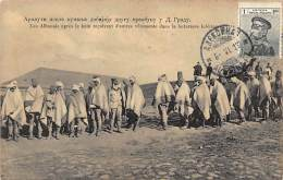 Albania - SHKODER - Albanians Receiving New Clothes After The Siege During The Firtst Balkan War (April 23, 1913). - Albania
