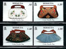 "Bermuda    ""Cedar Handle Bags""    Set   New Issue   ( June-21-2018)   MNH - Bermuda"