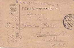 Feldpostkarte - K.u.k. Feldjäger Bataillon Nr. 5 - 1917 (35509) - 1850-1918 Imperium