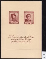Chile Casa De Moneda Christmas Navidad New Year : 1961 O'Higgins Carrera M/s. SIGNED - Chile