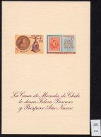 Chile Casa De Moneda Christmas Navidad 1968 M/s Coin Press Stamp-on-stamp - Chile