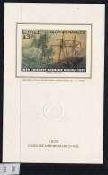 Chile Casa De Moneda Christmas Navidad 1979 M/s Ships Naval Battle Navy - Chile