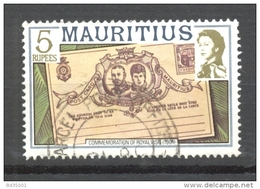 Timbre Oblitéré - Mauritius / Ile Maurice -  Commemoration Of Royal Visit (1901) 1 Exemplaire - Maurice (1968-...)