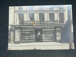 ROCHEFORT     1930 /   DEVANTURE COMMERCE  CHAUSSURES  /    PHOTO 16 X 12 CM  HAREP - Rochefort
