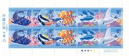 JAPON - BLOCK SEA FISHES  / 2 - Blocks & Sheetlets