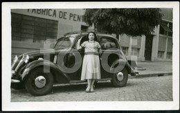 30s ORIGINAL PHOTO FOTO FIAT SIMCA 1100 Mls21 - Automobiles