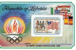 LIBERIA 1548,unused - Summer 1992: Barcelona