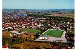 Fumel - Vue Générale Aérienne - Stade De Rugby - Fumel