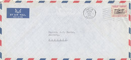 Kuwait Air Mail Cover Sent To Denmark 24-4-1969 - Kuwait