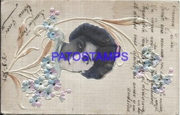 95484 ARTIST LINA CAVALIERI ITALY 1874 – 1944 ACTRESS & SINGER OPERA SOPRANO ART EMBOSSED POSTAL POSTCARD - Artistes