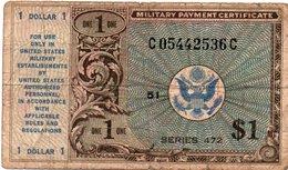 STATI UNITI 1 DOLLAR 1948 P-M19 - Military Payment Certificates (1946-1973)