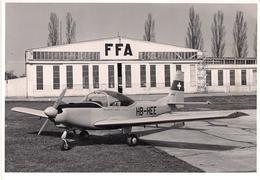 Aviation - Avion Bravo HB-HEE Devant FFA à Altenrhein - Aviation