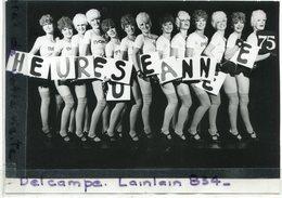 - Photo De Presse - Original -  Les Girls Du Crasy Horse Saloon, Happy New Year, Le  31-12-1974, TBE, Scans.. - Pin-ups