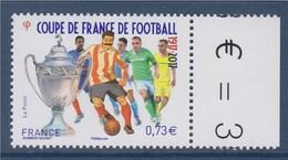 = Coupe De France De Football, Centenaire, La Coupe Et Des Joueurs  0.73€ Avec Bord De Feuille  N°5145 - Neufs