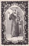 DP Carolus VANWTBERGHE Veuf VANDERMEERSCH IZEGEM 1801 - POPERINGE 1855 Doodsprentje Saint Antoine De Padoue - Devotieprenten