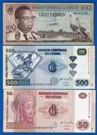 Congo  6  Billets - Democratic Republic Of The Congo & Zaire