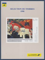 = Paul Gaugin Vision Après Le Sermon Sur Carte La Poste Pour S'abonner Aux Timbres N°3207 Peintre Postimpressionniste - Cartoline Maximum