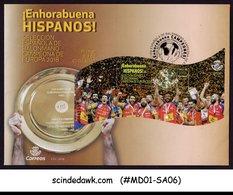 SPAIN - 2018 EUROPEAN HANDBALL CHAMPIONS - MS - FDC - FDC