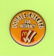 Pin's Mac Do McDonald's Double-Checked For Accuracy  - 10F28 - McDonald's