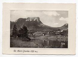 CHAPAREILLAN --1962--Le Mont Granier Alt 1936m Et Le Lac Saint André--timbre -cachet CHAPAREILLAN-38 - Frankreich