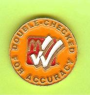 Pin's Mac Do McDonald's Double-Checked For Accuracy  - 8F03 - McDonald's