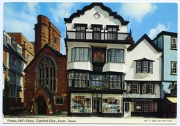 EXETER : FAMOUS MOL'S HOUSE, CATHEDRAL CLOSE (JOHN HINDE) - Exeter
