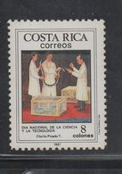 Costa Rica MNH Scott 386 Year 1987 National Science Snake Dr Clorito Picado - Snakes