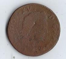 France Pièce 1772 Louis XV D Gratia Blason Couronné  LUDOV XV D GRATIA FRANCIAE ET NAVARRAE - Royal / Of Nobility