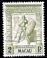 !■■■■■ds■■ Macao 1938 AF#303ø Colonial Empire 2 Patacas (x11350) - Used Stamps