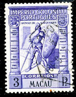 !■■■■■ds■■ Macao 1938 AF#304ø Colonial Empire 3 Patacas (x11351) - Used Stamps