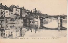 77 - LA FERTE SOUS JOUARRE - Le Pont Et Entrée De La Rue Des Pelletiers - La Ferte Sous Jouarre