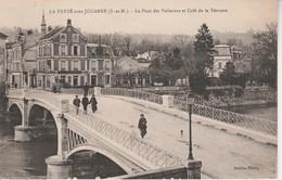 77 - LA FERTE SOUS JOUARRE - Le Pont Des Pelletiers Et Café De La Terrasse - La Ferte Sous Jouarre