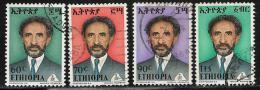 Ethiopia, Scott # 683-6 Used Selassie, 1973 - Ethiopia