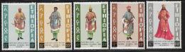 Ethiopia, Scott # 704-8 Mint Hinged Ceremonial Robes, 1974 - Ethiopia