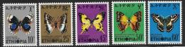 Ethiopia, Scott # 720-4 MNH Butterflies, 1975 - Ethiopia