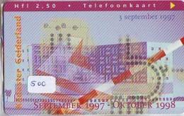NEDERLAND CHIP TELEFOONKAART CRE 500 *  KADASTER GELDERLAND * Telecarte A PUCE PAYS-BAS * ONGEBRUIKT MINT - Private